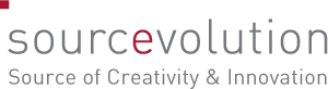 Logo sourcevolution | Source of Creativity & Innovation